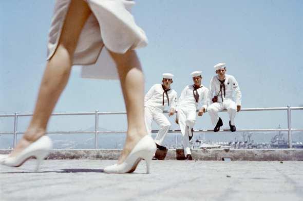 Sailors Watching Photo Hank Walker-Getty Image