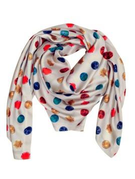 cristina-sabaiduc-scarf-white-polka-dots
