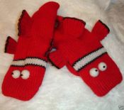 Deluxe Blowfish Mittens