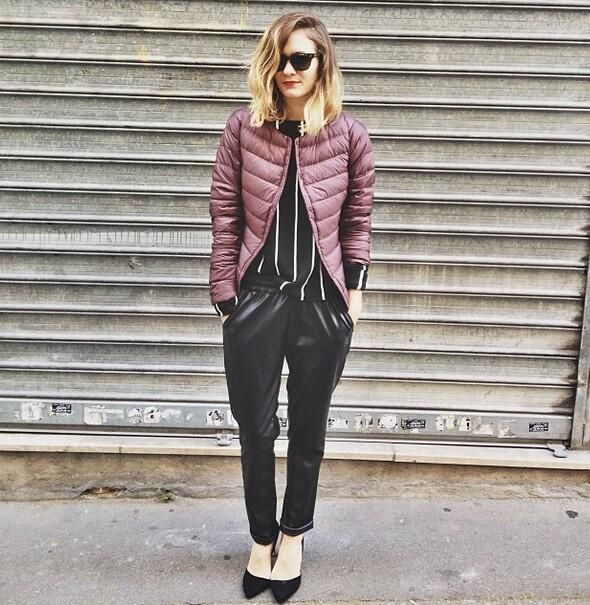 French Blogger Anne Laure From Www Adenorah Com Wears A