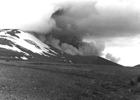 Hekla - 1980 Eruption