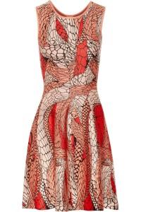 Issa web pattern dress