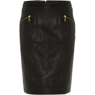 michael kors-leather pencil skirt