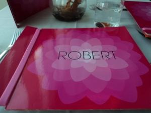robert menu