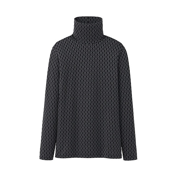 Uniqlo Heattech Oral Kiely turtleneck