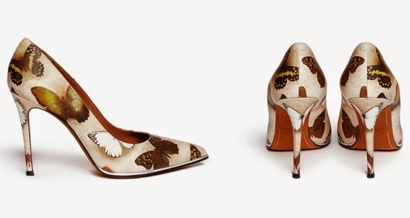 givenchy 2015 womens shoes butterfly pumps fashion trends