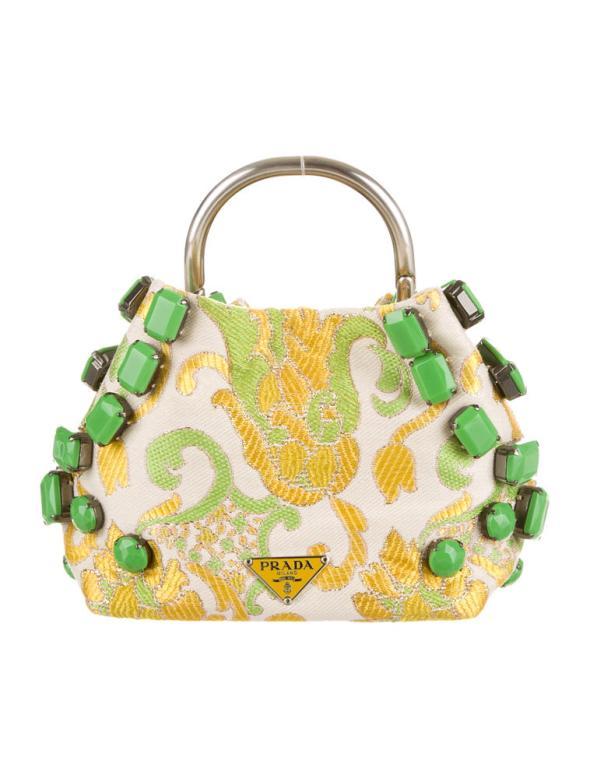 Prada Brocade Evening Bag