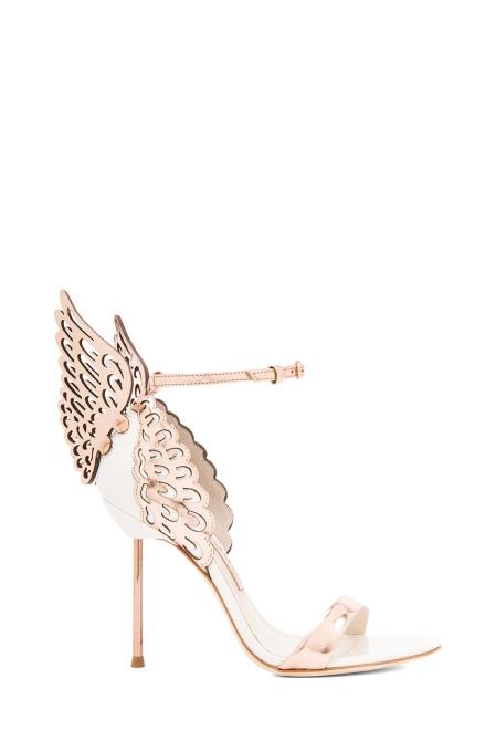 Sophie Webster Evangeline Sandal Rose gold