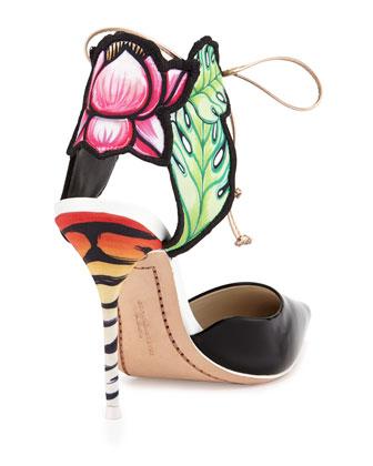 Sophie Webster Rosseau Jungle Floral Sandal