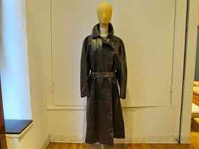 Azzedine Alaia Leather Trench housingworks
