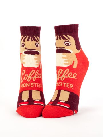 BlueQ Coffee Monster Socks