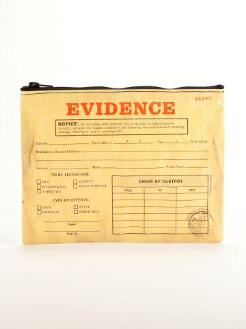 BlueQ Evidence Bag