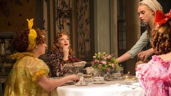 Cate Blanchett Cinderella Leopard Dress