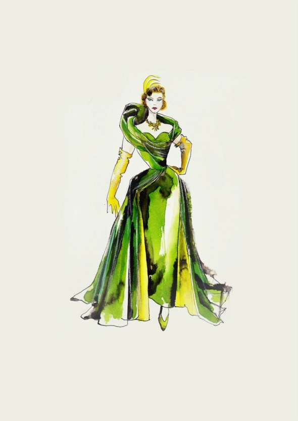 cinderella-wicked-stepmother-costume-sketch