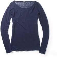 Club Monaco Linen Sweater Navy