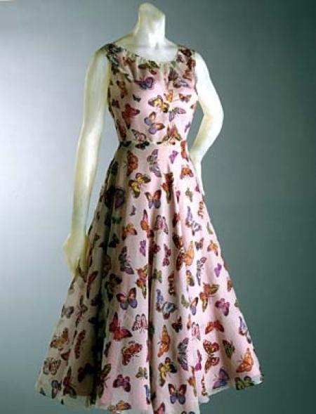 Elsa Schiaparelli, Evening Dresses, Vintage Fashion, Bridal Parties Dresses, Paris France, Butterflies Dresses, 1930 S, Philadelphia Museums, Summer 1937