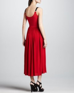 Micheal Kors Harness Gown Back NM Last Call