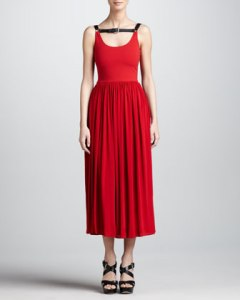 Micheal Kors Harness Gown NM Last Call