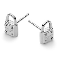 Micheal Kors Padlock Stud Earrings