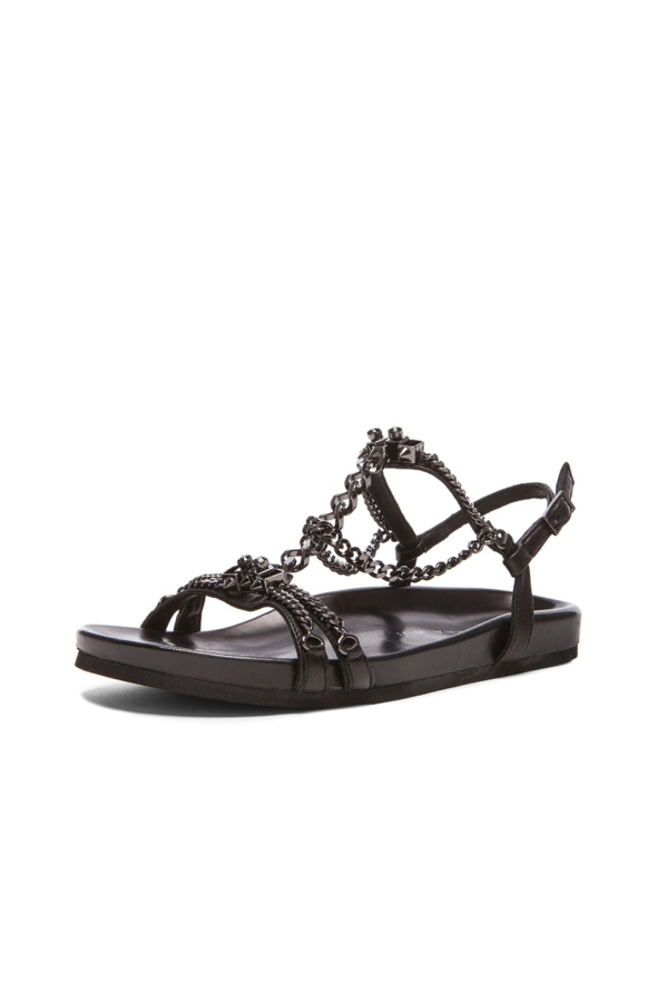 Barbara Bui Chain Sandals