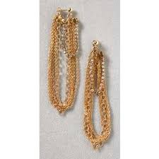 Bing Bang Chain Earrings