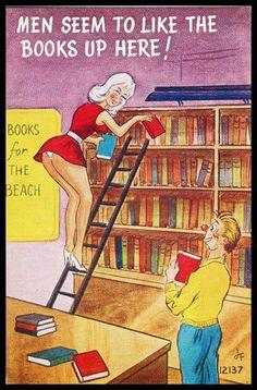 Librarian Peek