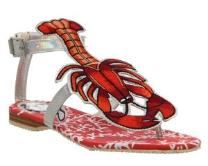 Miss L Fire Lobster sandals