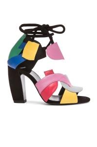 Pierre Hardy Atelier Tri Color Heels