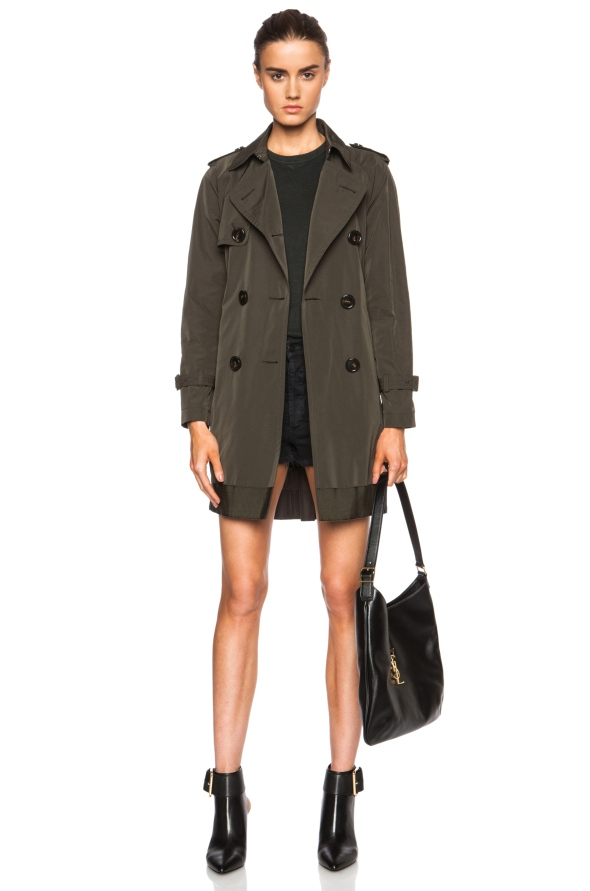 Trench Moncler Delmas Poly-Blend Trench