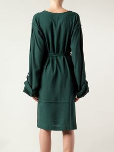 Vivienne Westwood Anglomania Falcon Dress Green back