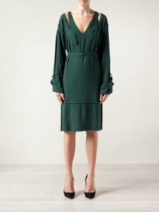 Vivienne Westwood Anglomania Falcon Dress Green