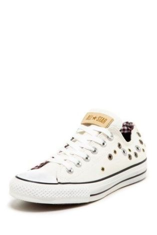 Chuck Taylor Eyelet Grommet White Lace Up