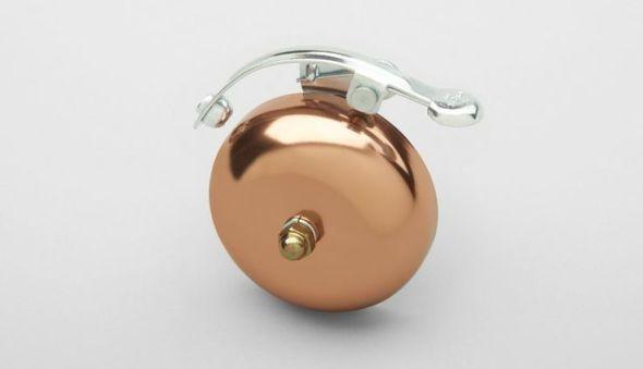 Copper bike bell