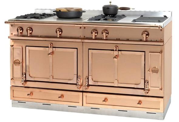 copper-chateau-cuisiniere LA CORNUE french manufacture
