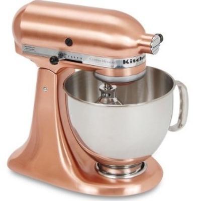 Copper Kitchenmaid mixer