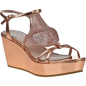 Copper Lola Cruz mesh sandals