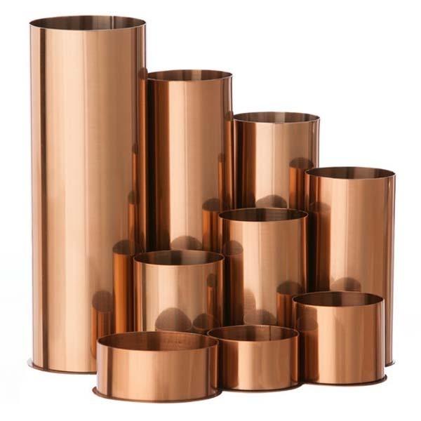 Copper Pen Pencil storage