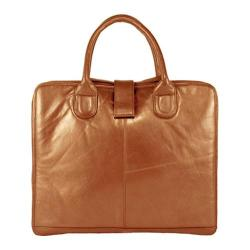 Copper Womens-Latico-Jennette-Laptop-Brief-7638-Metallic-Copper-Leather-P15421969