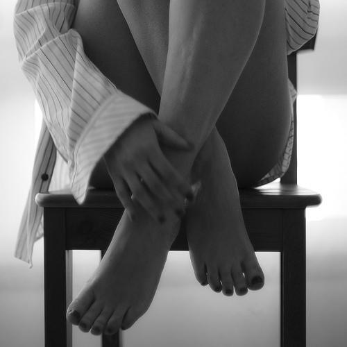 mens shirt feet