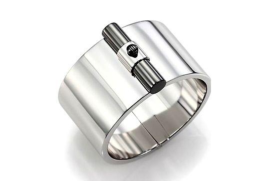 Reed Krakoff T-Bar Sterling Silver Cuff Bracelet, $438.22