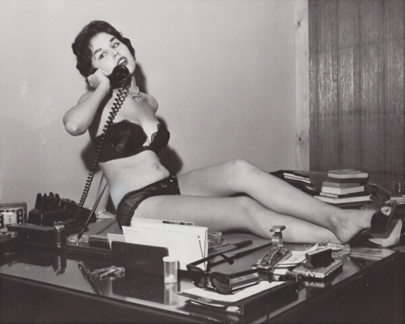 Bettie Page Sexy Secretary
