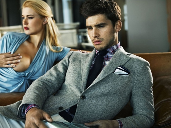 Cali Hermes Suit supply missed photo