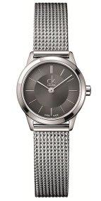 Calvin Klein Silver Mesh Watch
