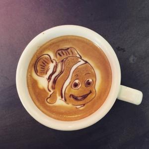 Coffee Art Nemo