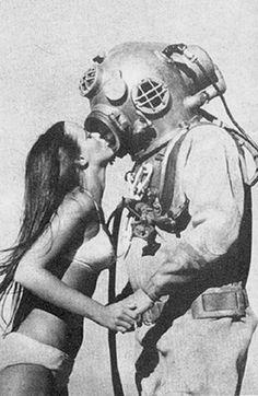 Diver and Swim Goddess photo