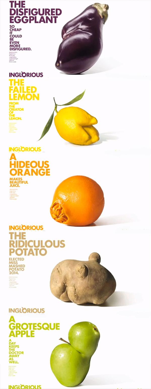 Inglorious fruit and veg
