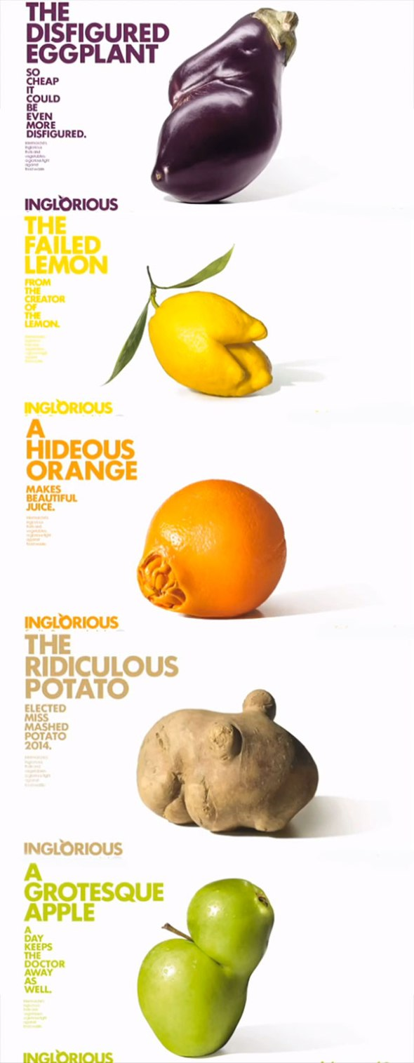 Inglorious fruit and veg