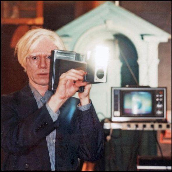 Polaroids Andy's Big Shot, New York, 1978.