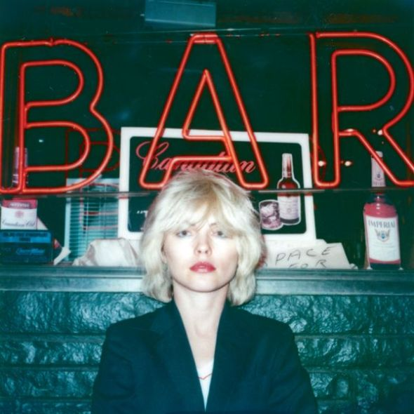 Polaroids Debbie Outside a Bar, New York, 1979.