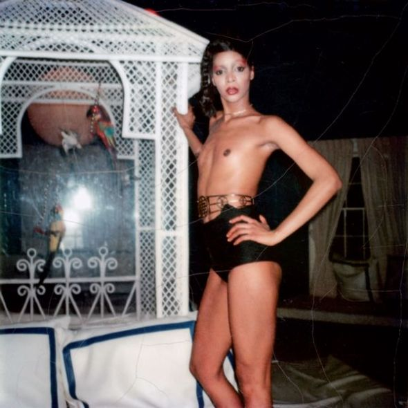Polaroids Ramona, New York, 1977.